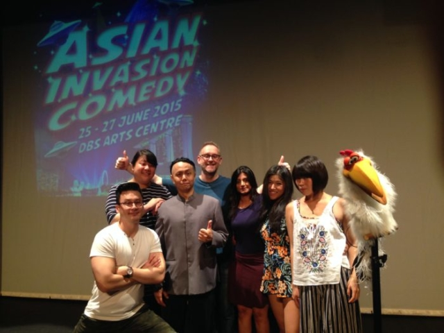Quill Potter, Quilliam Potter, Singapore Comedy, Channel X Global